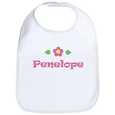 """Pink Daisy - """"Penelope"""" Bib"""