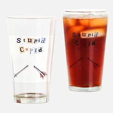 stupidcupid Drinking Glass