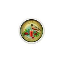 Cherry Cherrio Bird Vintage Soda Pop A Mini Button