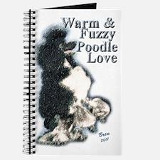 Warm Fuzzy Poodle Love Journal