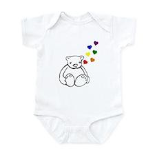Bears Love Color Infant Bodysuit