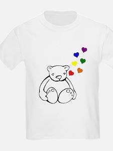 Bears Love Color T-Shirt