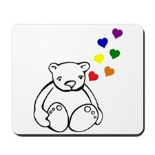 Bears Love Color Mousepad