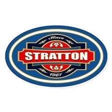 Stratton Old Label Decal