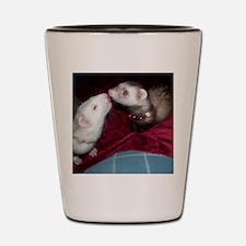 Ferret Kiss Shot Glass