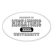 Miskatonic University Oval Decal