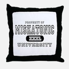 Miskatonic University Throw Pillow