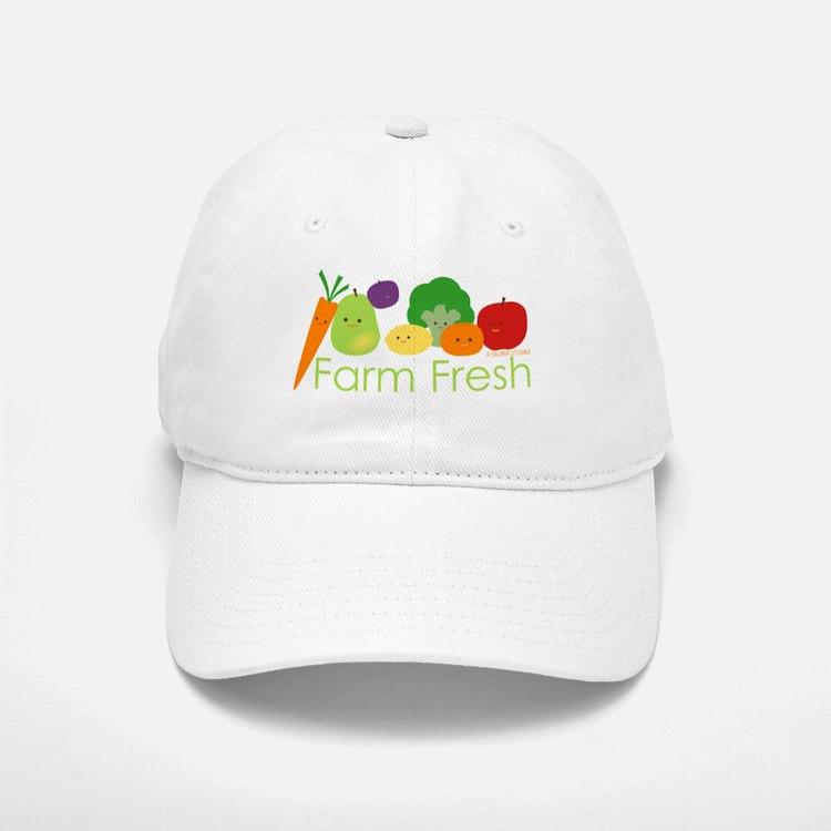"""Farm Fresh"" Baseball Baseball Cap"