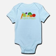 """Farm Fresh"" Infant Bodysuit"