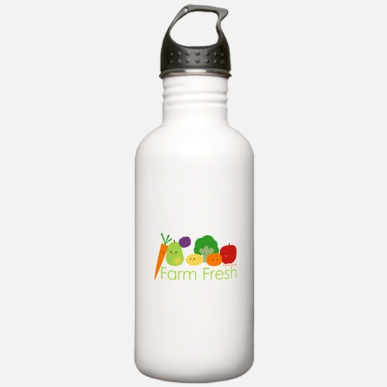 """Farm Fresh"" Water Bottle"