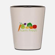 """Farm Fresh"" Shot Glass"