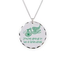 You're going to be a Grandma Necklace Circle Charm