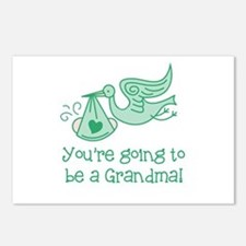 You're going to be a Grandma Postcards (Package of
