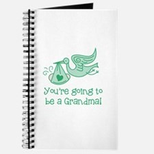 You're going to be a Grandma Journal