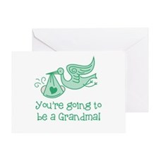 You're going to be a Grandma Greeting Card