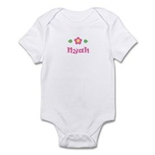 "Pink Daisy - ""Nyah"" Infant Bodysuit"
