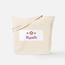 "Pink Daisy - ""Nyah"" Tote Bag"