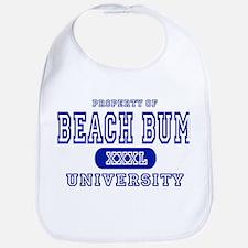 Beach Bum University Bib
