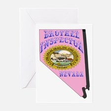Nevada Brothel Inspector Greeting Cards (Package o