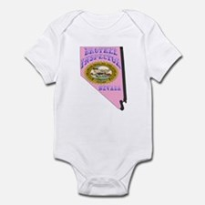 Nevada Brothel Inspector Infant Bodysuit
