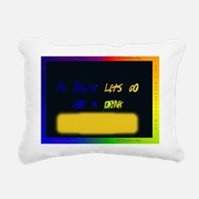 I Hate Valentines Day Dr Rectangular Canvas Pillow