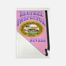 Nevada Brothel Inspector Rectangle Magnet