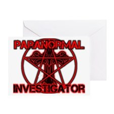 Paranormal signs Greeting Card