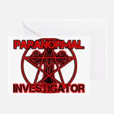 Paranormal signs Greeting Card
