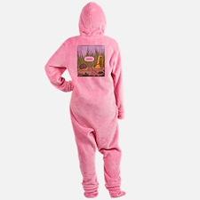 Musical Snail Final Footed Pajamas