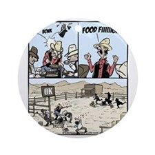 Food Fight Final Round Ornament