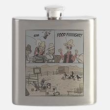 Food Fight Final Flask