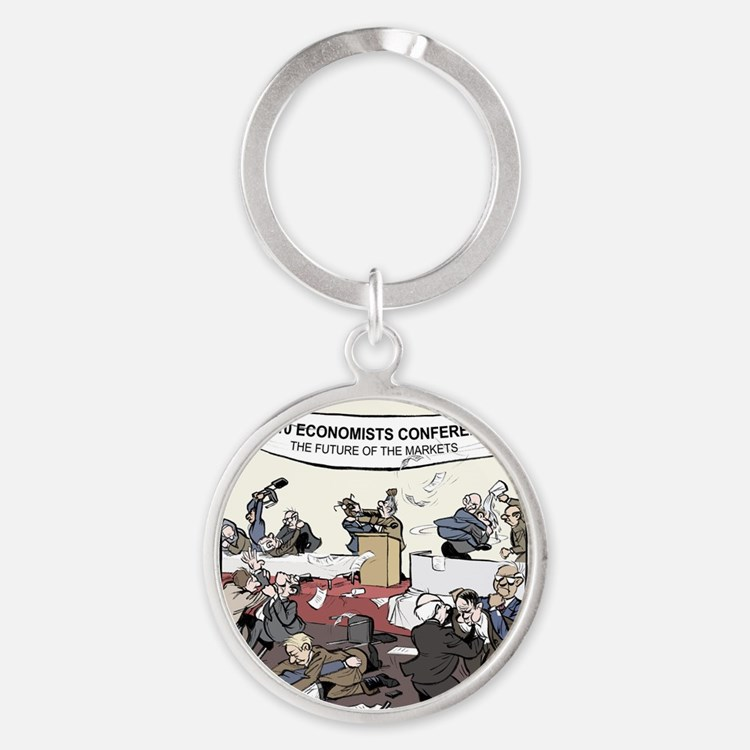 The Future of the Markets Final Round Keychain