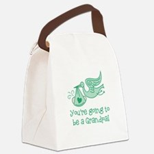 You're going to be a Grandpa Canvas Lunch Bag