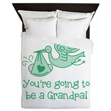 You're going to be a Grandpa Queen Duvet