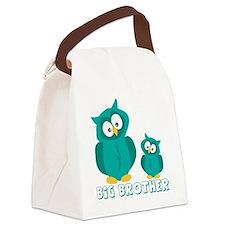 bog-brother-owls Canvas Lunch Bag