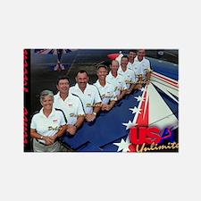 USA Team Poster Rectangle Magnet
