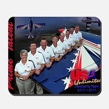 USA Team Poster Mousepad