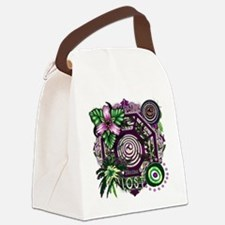 Dharma Orchid Jungle Medley Canvas Lunch Bag