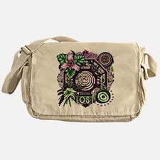 Dharma Orchid Jungle Medley Messenger Bag