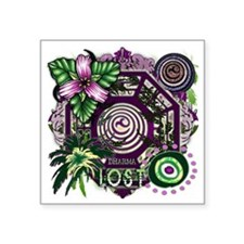 Dharma Orchid Jungle Medley Square Sticker 3