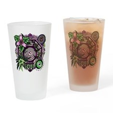 Dharma Orchid Jungle Medley Drinking Glass