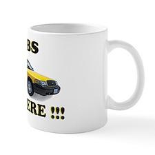 cabs are here-2 Mug