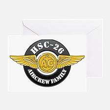 HSC OK-1 Greeting Card