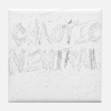 Chaotic Neutral Tile Coaster