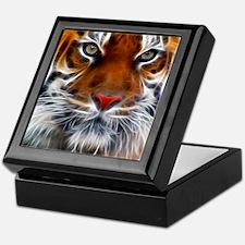 Indian_Tiger Large Keepsake Box