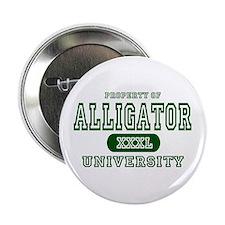 Alligator University Button