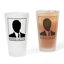 Krauthammer 2012 square Drinking Glass