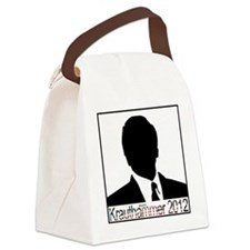 Krauthammer 2012 square Canvas Lunch Bag