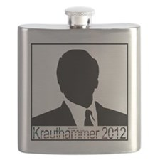 Krauthammer 2012 square Flask