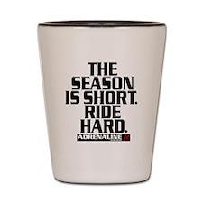 Short Season Shot Glass